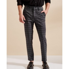 PRINTED TROUSERS (EBONY)
