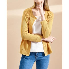 MARIE CARDIGAN (YELLOW)