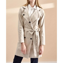 ELEANOR TRENCH COAT (BEIGE)