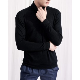 CLEMENT ROLL NECK JUMPER (BLACK)