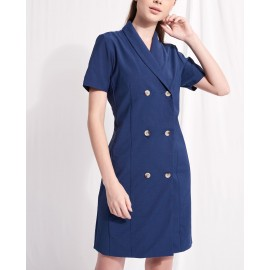 JULIANE DRESS (NAVY)