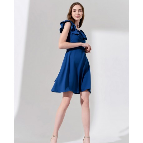 GLORIA DRESS (BLUE)