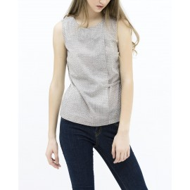 PRINTED TOP (GREY)