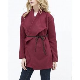 CROSSOVER JACKET (BURGUNDY)