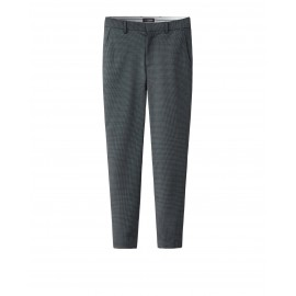 PRINTED TROUSERS (CHARCOAL)