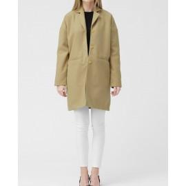 WOOL COAT (BEIGE)