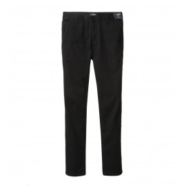 MEN BLACK SLIM FIT CHINOS