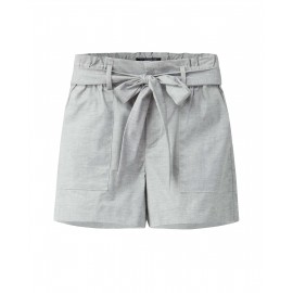 HIGH WAIST SHORTS (GREY)