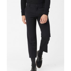 CROPPED TROUSERS (BLACK)