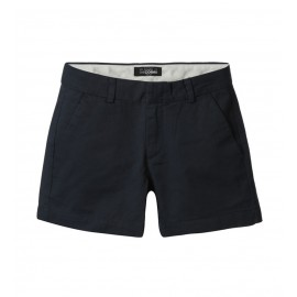 WOMEN NAVY CHINO SHORTS