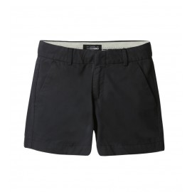 WOMEN DARK GREY CHINO SHORTS
