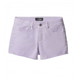 WOMEN VIOLET SLIM-FIT TWILL SHORTS