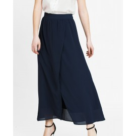SLIT SKIRT (NAVY)