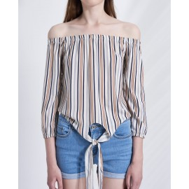 FRONT KNOT TOP (HONEY)